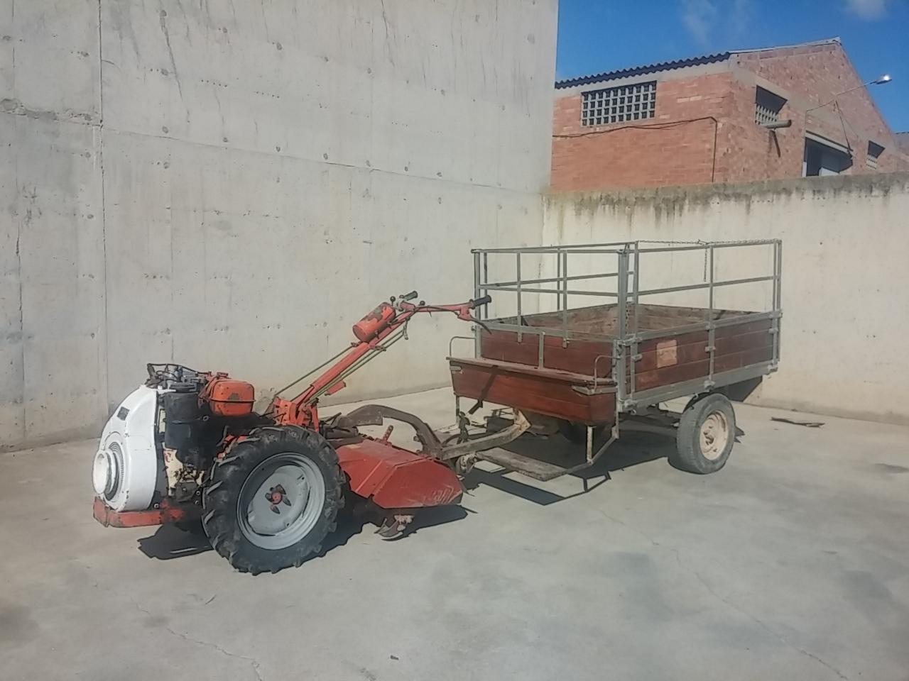 motocultor pasquali mt con fresa y remolque cabau  lombardini lda 96 manuale officina