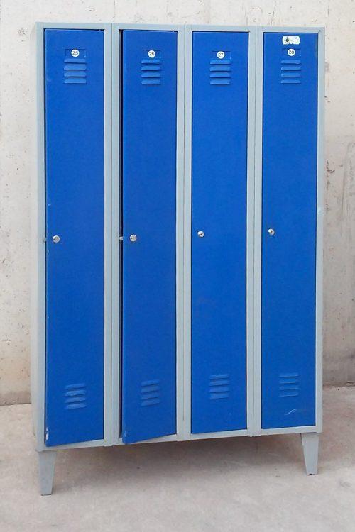 Taquilles porta blava 100x50x167cm
