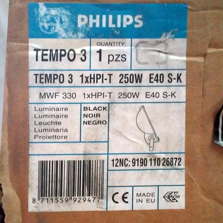 Projector philip tempo 3 ip65 cabau oportunitats - Foco philips ip65 ...