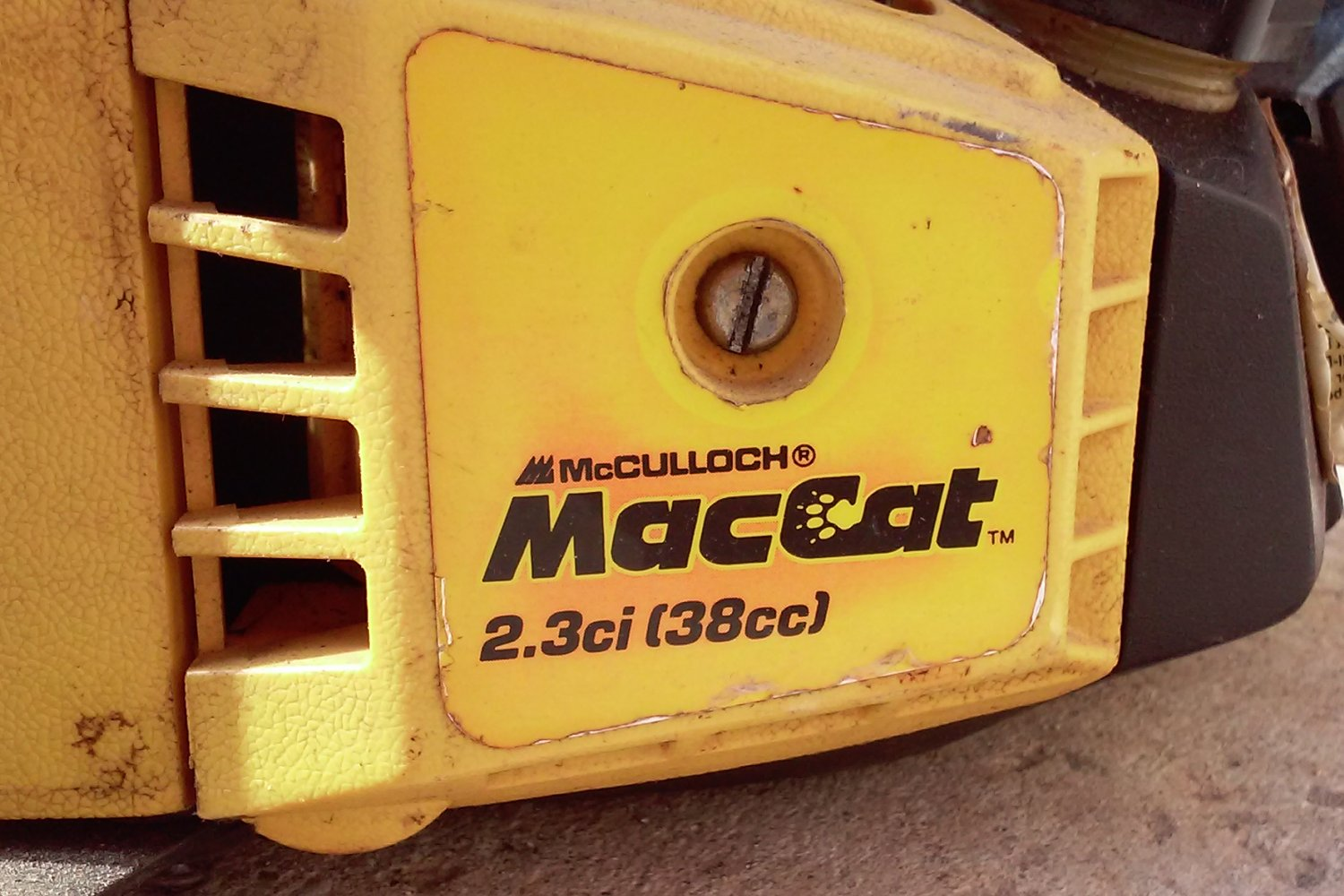 mcculloch mac 130 chainsaw service manual