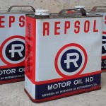 Llaunes d'oli REPSOL SO30