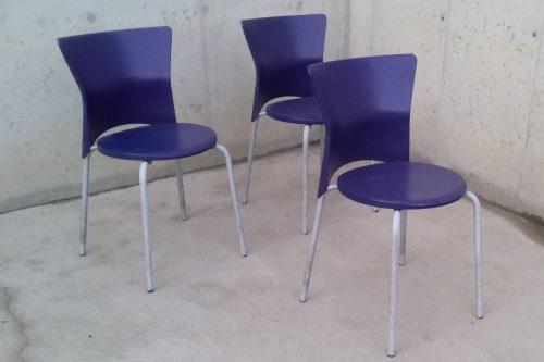 Cadires blaves 5 euros