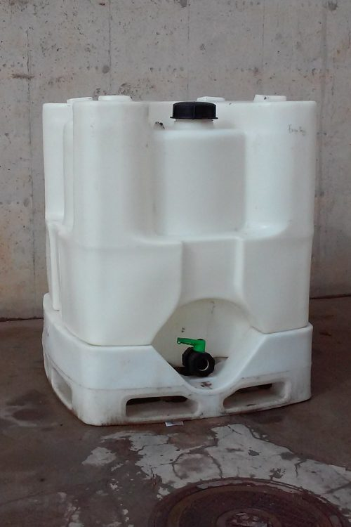 Dipòsit aigua potable 110x110x140cm