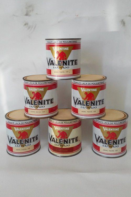 Pintura esmalt VALENTINE Crema pastel 125g