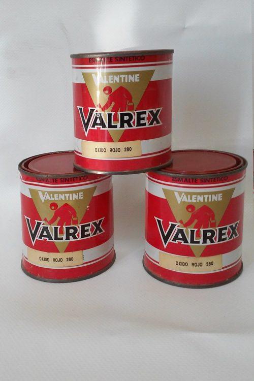 Pintura esmalt VALENTINE Oxido rojo 125g