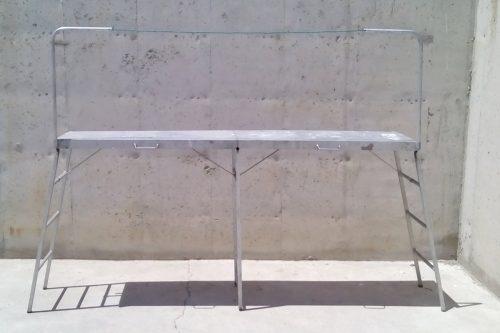 Bastida plegable 100x40x100cm