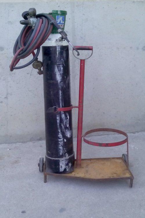 Bufador d'oxigen de segona mà