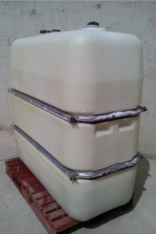 Dipòsit gasoil 1000l petaca 140x70x150cm