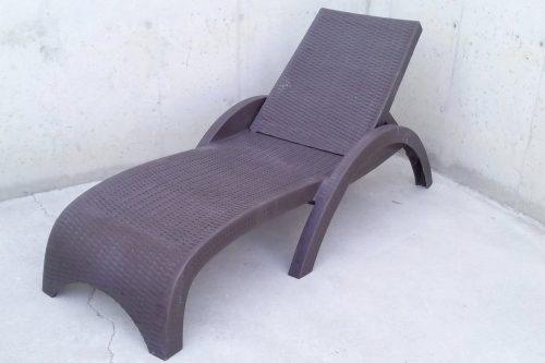 Hamaca de plàstic reclinable 188x73cm