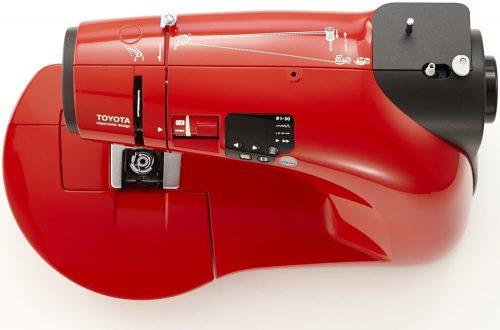 Màquina de cosir TOYOTA oekaki renaissance vermella