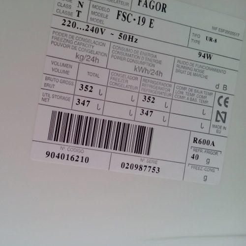 Nevera FAGOR FSC-19-E