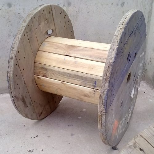 Bobina de fusta de 80x60cm
