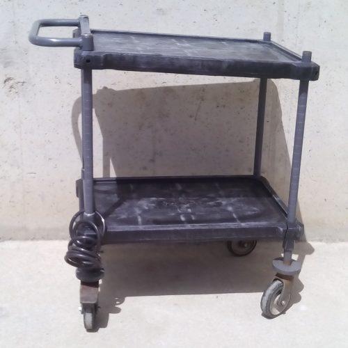 Carro de plàstic de 85x45x92cm