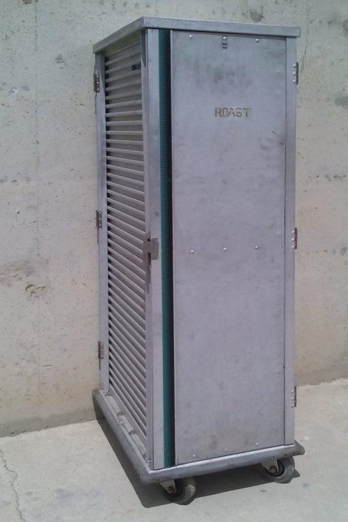 Carro hosteleria amb doble porta 70x53x178cm