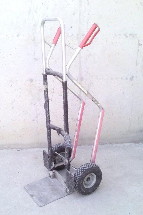Carro reclinable d'alumini
