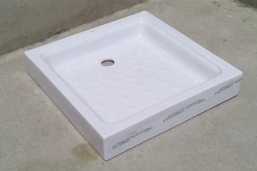 Plat de dutxa de 69x69cm