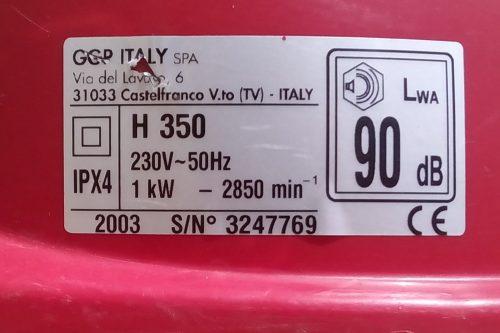Talladora de gespa elèctrica RASER H350