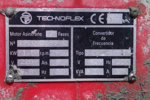 Variador TECHNOFLEX amb 2 vibradors formigó