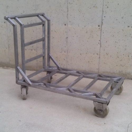 Carro reforçat d'acer inoxidable de segona mà a cabauoportunitats.com