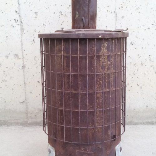 Estufa de llenya de 31x46cm