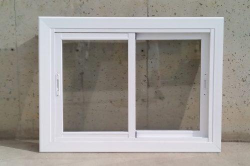 Finestra d'alumini de 119x60cm