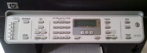 Impressora HP Officejet Pro L7580