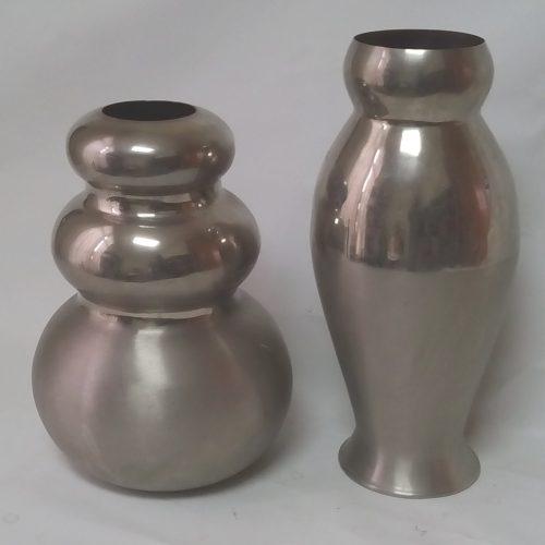 Lot de 2 gerros metàl·lics