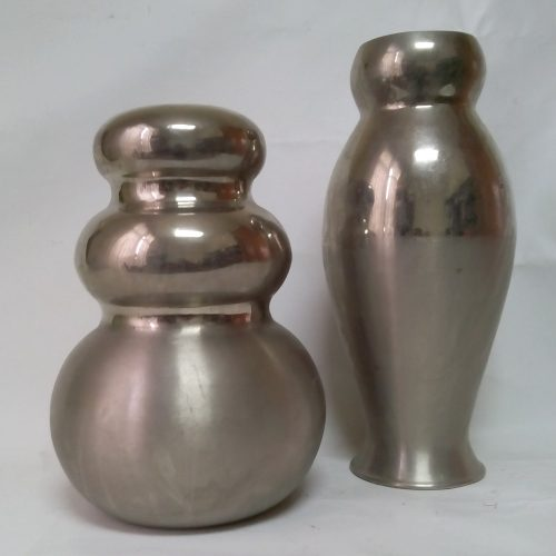 Lot de 2 gerros metàl·lics a cabauoportuntiats.com