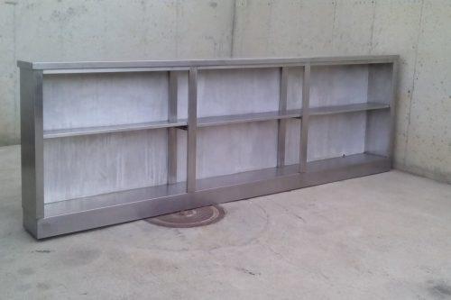 Moble d'acer inoxidable de 330cm
