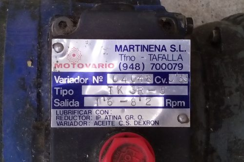 Motor reductor MOTOVARIO TK 3R-5