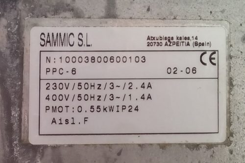 Pelador de patates SAMMIC PPC 6