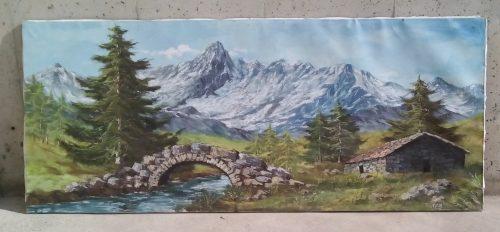 Quadre paisatge 180x82cm