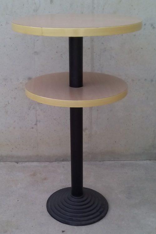 Taula rodona alta bar ø71x127cm