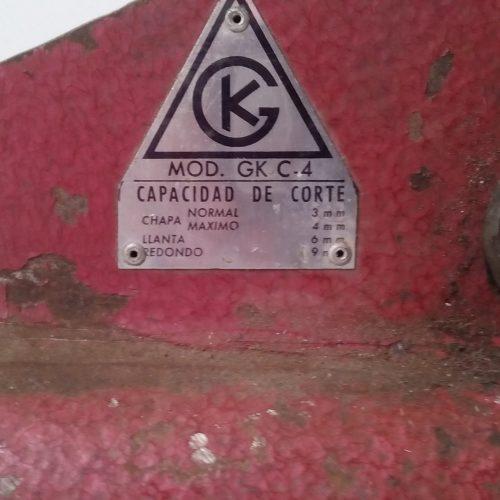 cisalla de xapa GK C-4