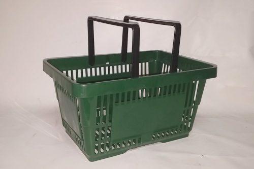 Cistella de compra de plàstic 43x30x23cm a cabauoportunitats.com