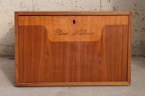 Caixa de fusta «puros habanos» de segona mà a cabauoprtunitats.com
