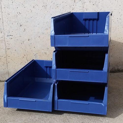 Cubeta organitzadora de polipropilé (40x23x15cm) nova a cabauoportunitats.com