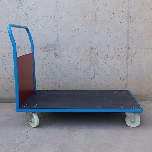 Carro amb plataforma de 125x80cm nou, d'ocasió, a cabauoportunitats.com