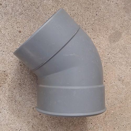 Colze de PVC de 45º nou a cabauoportunitats.com