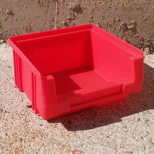 Cubeta apilable de 10x9x5cm d'ocasió a cabauoportunitats.com