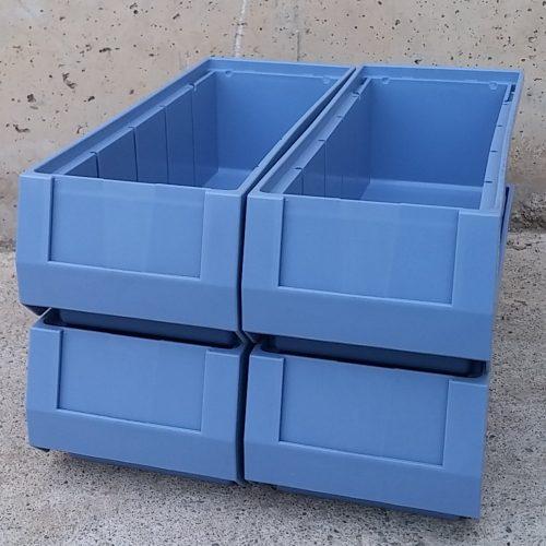 Cubetes apilables de 300x117x90mm noves a cabauoportunitats.com