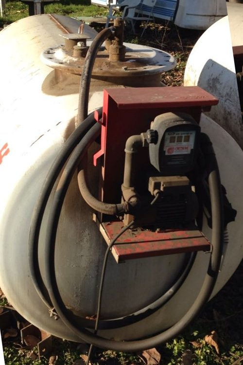 Dipòsit de gasoil de 2000l de capacitat de segona mà a cabauoportunitats.com