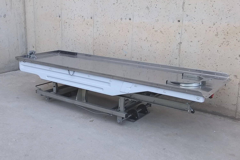 Plataforma con camilla SPENCER de ocasión para ambulancia en cabauoportunitats.com