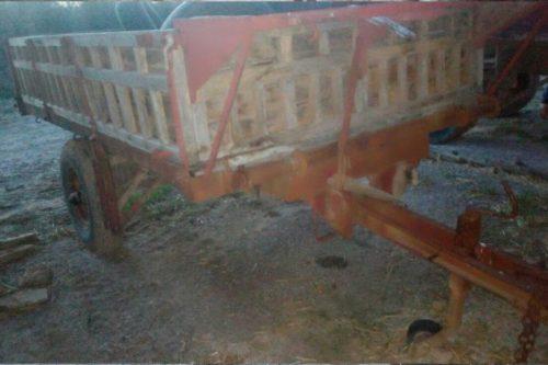 Remolc per a tractor de 3000kg de segona mà a cabauoportunitats.com