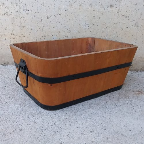 Jardinera seminova de fusta a cabauoportunitats.com