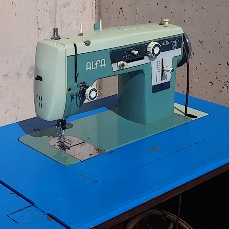 Máquina de coser ALFA ALFAMATIC 109 - Cabau Oportunitats