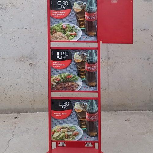 Rètol menú restaurant d'ocasió a cabauoportunitats.com