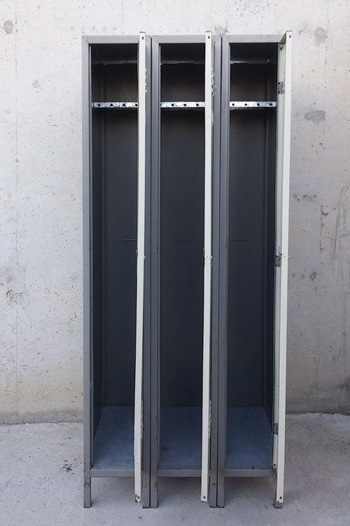 Mòdul 3 taquilles 75x50x180cm d'ocasió a cabauoportunitats.com