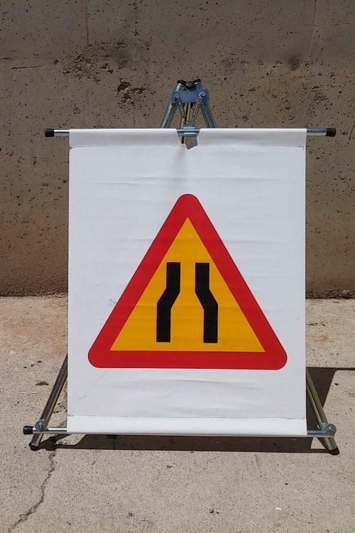 Senyal trànsit estrenyiment calçada d'ocasió a cabauoportunitats.com