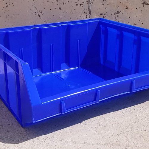 Cubeta apilable de 34x41x16cm d'ocasió a cabauoportunitats.com